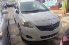 Clean Tokunbo Used Toyota Yaris 2007 White