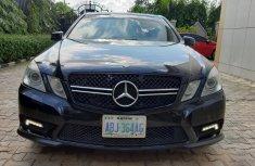 Super Clean Nigerian used Mercedes-Benz E550 2011