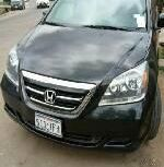 Neat Foreign used Honda Odyssey 2005