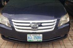 Clean Nigerian Used Toyota Avalon 2008 Model Black