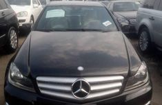 Clean Foreign Used Mercedes-Benz C350 2013 Model Black
