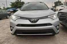 Foreign Used Toyota RAV4 2016 Model Grey/Silver Lagos