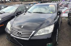 Foreign Used Lexus ES 350 2010 Model Black