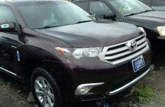 Foreign Used Toyota Highlander 2012 Model