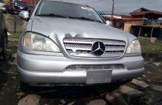 Super Clean Tokunbo Mercedes-Benz ML 320 2000 Model Grey/Silver