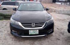 Clean Nigerian Used Honda Accord 2014 Model Black