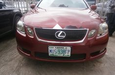Clean Nigerian Used  Lexus GS 2006 Model