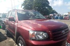 Very Clean Foreign used 2005 Toyota Highlander