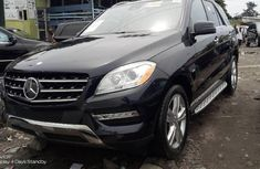 Neat Tokunbo Mercedes-Benz ML350 2012 Model Blue