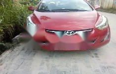 Clean Nigerian Used Hyundai Elantra 2014 Model Red