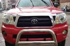 Foreign Used Toyota Tacoma 2008 Model Red