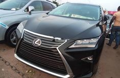 Foreign Used  Lexus RX 2017 Model Black