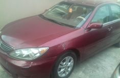 Nigerian Used Toyota Camry 2006 Model Red