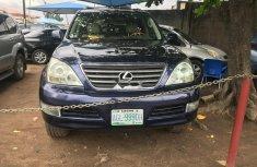 Nigerian Used Lexus GX 2006 Model Blue