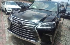 Clean Tokunbo Lexus LX 2017 Model  Black