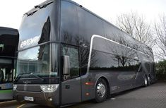 Take a tour inside Man Utd double-decker team bus worth ₦176m!