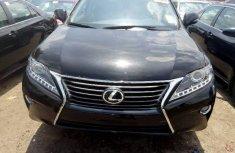 Clean Tokunbo Lexus RX 2013 Model Black