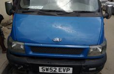 Foreign Used  Ford Transit 2008 Model Blue