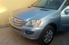 Clean Tokunbo Mercedes-Benz ML350 2008 Model Blue