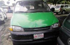 Nigerian Used Toyota HiAce 1998 Model Green