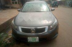 Nigerian Used Honda Accord 2007 Model Grey/Silver