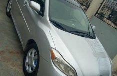 Clean Nigerian Used Toyota Matrix 2009 Model Grey/Silver