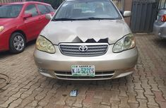 Very Clean Nigerian used Toyota Corolla 2004