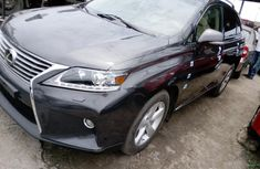 Foreign Used Lexus RX 2010 Model Grey/Silver