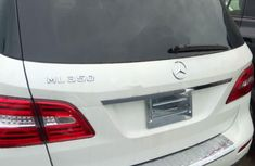 Foreign Used Mercedes-Benz ML350 2013 Model White