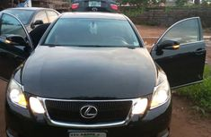 Black 2009 Nigerian Used Lexus GS 350 4WD Sport for Sale