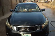 Nigerian Used Honda Accord 2009 Model Black