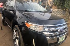Nigerian Used Ford Edge 2013 Model Black