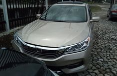 Clean Tokunbo Honda Accord 2016 Model Gold