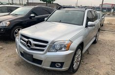 Foreign Used Mercedes-Benz GLK 2011 Model Grey/Silver
