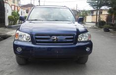 Neat Foreign used Toyota Highlander 2006
