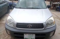 Nigerian Used Toyota RAV4 2002 Model Grey/Silver