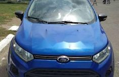 Foreign Used Ford EcoSport 2014 Model Blue