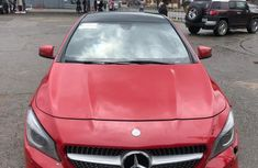 Foreign Used Mercedes-Benz CLA-Class 2014 Model Red