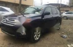 Super Clean Foreign used Toyota Highlander 2011