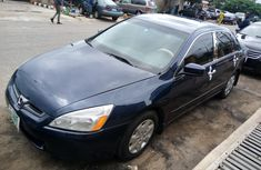 Nigerian Used Honda Accord 2004 Model Blue
