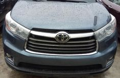 Foreign Used Toyota Highlander 2015 Model Blue