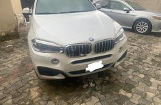 Nigerian Used BMW X6 2016 Model White