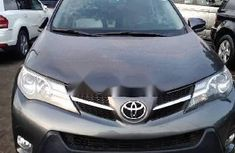 Foreign Used Toyota RAV4 2015 Model Grey/Silver