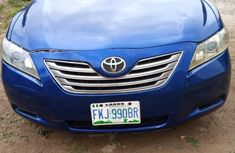 Nigerian Used Toyota Camry 2008 Model Blue