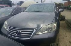 Foreign Used Lexus ES 2012 Model Grey/Silver