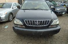Fairly Nigerian Used Lexus RX300 2003 Model Black for Sale