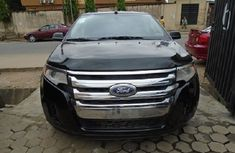 Nigeria Used Ford Edge 2012 Model Black for Sale in Lagos