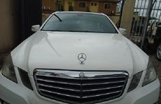 Nigeria Used Mercedes Benz E350 2010 Model White