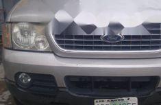 Nigerian Used Ford Explorer 2002 Model Grey/Silver