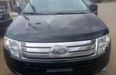 Foreign Used Ford Edge 2008 Model Black